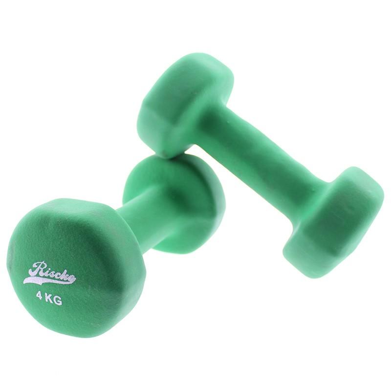 miniatura 5 - Mancuernas de vinilo x2 pesas fitness - Riscko