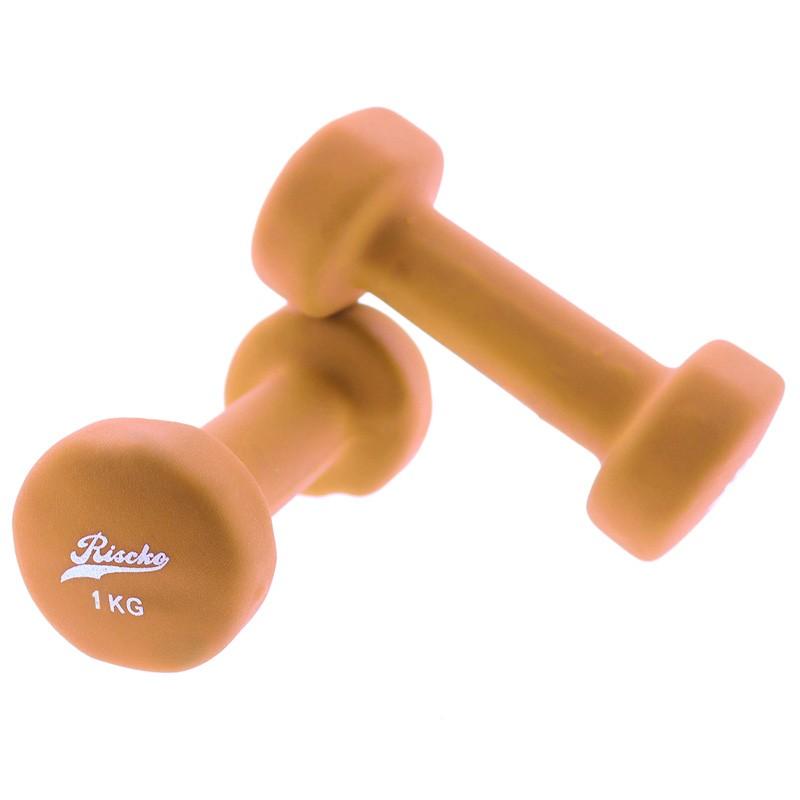 miniatura 6 - Mancuernas de vinilo x2 pesas fitness - Riscko