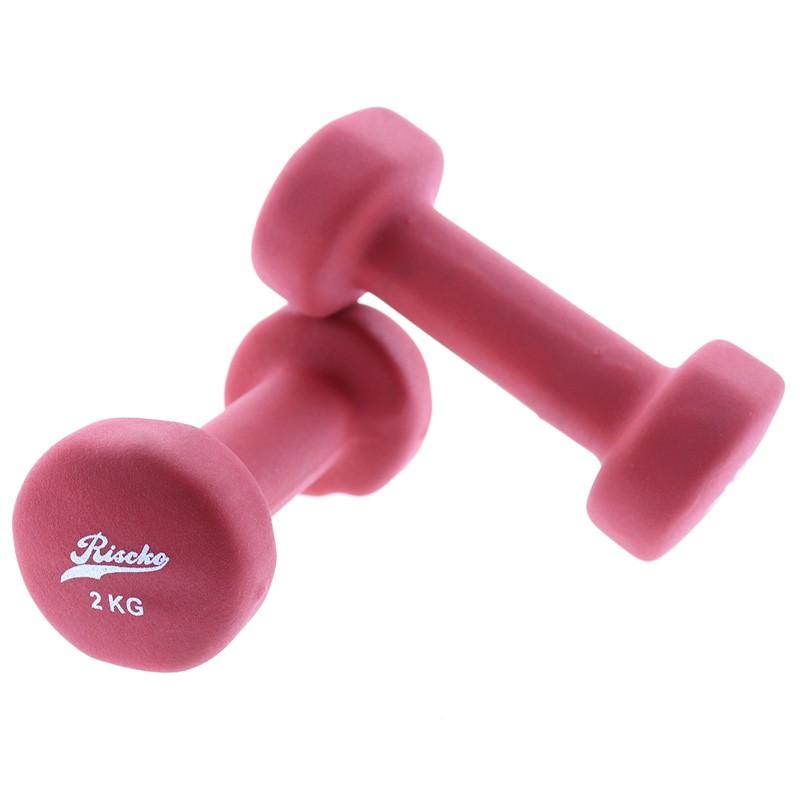 miniatura 7 - Mancuernas de vinilo x2 pesas fitness - Riscko