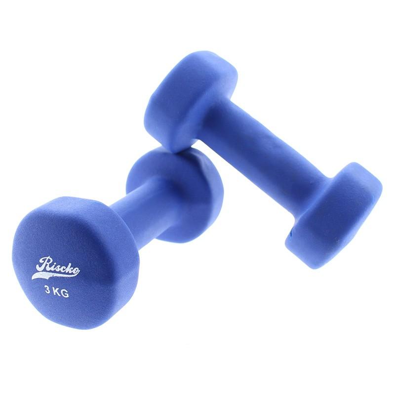 miniatura 8 - Mancuernas de vinilo x2 pesas fitness - Riscko