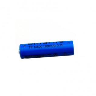 Batería recargable ultrafire 1200mah 3.7v