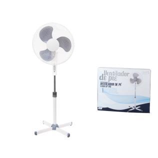 Ventilador de pie 40cm 45w plástico