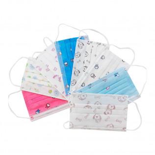 Mascarilla Protección desechables 3 capas para niños decorada | 10 unid