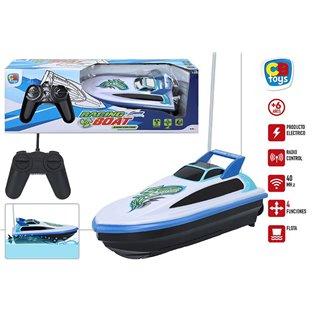 Lancha rc 20 cm - racing boat
