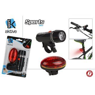 Blister luces led bicicleta