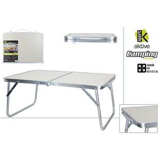 Mesa camping plegable alumini
