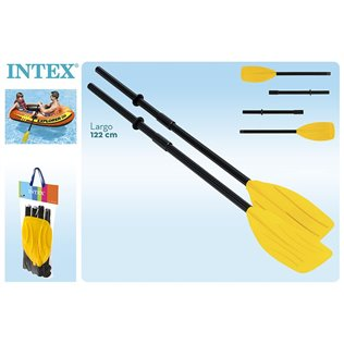 Remos franceses 122cm intex