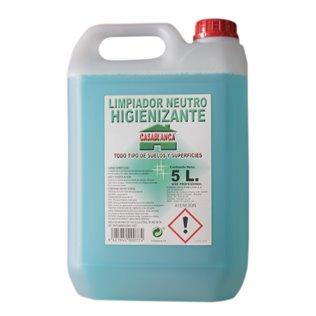 Limpiador higienizante neutro 5L