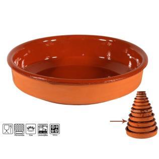 Cazuela 31 cm 3100 barro