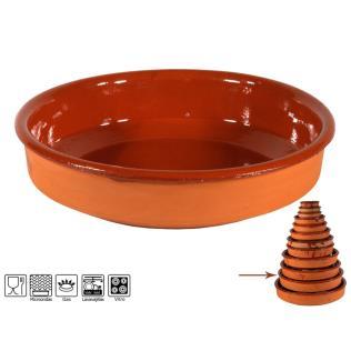 Cazuela 35 cm 3500 barro