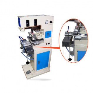 Máquina de tampografía neumática dos colores