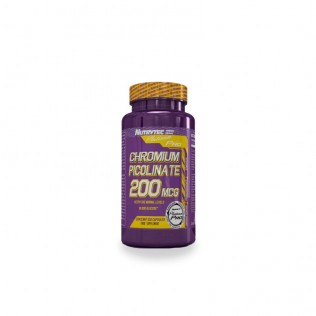 Picolinato de cromo 100 cápsulas platinum