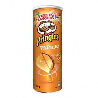 Snacks pringles parrika 165gr