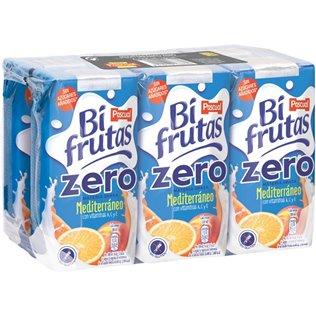 Bifruta pascual me.Zero p6 200 ml