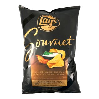 Patatas lays gourment queso 150g