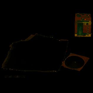 Mosquitera x2 75x220cm c/adhesivo