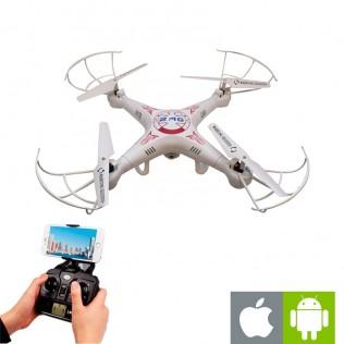 Dron cuadricoptero con cámara 4ch wifi