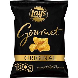 Patatas lays gourmet 180g