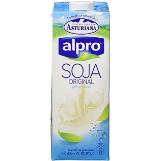 Leche asturiana alpro soja nat calcio 1l