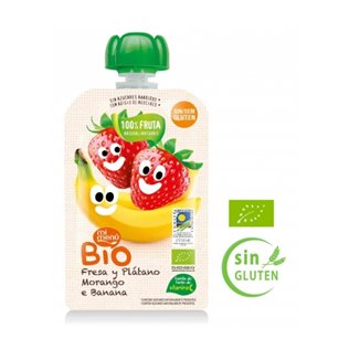 Pouch be plus bio fres/plat 100g