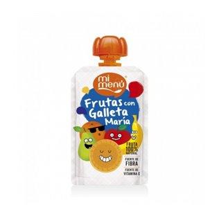 Pouch be plus frut/galleta 100g