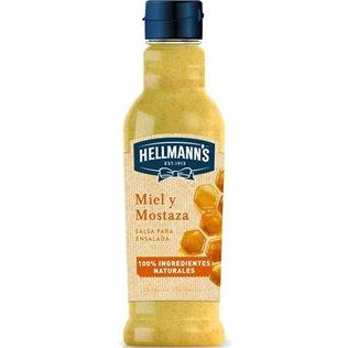 Salsa hellmanns miel/most 210ml