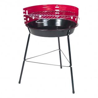 Barbacoa carbón malta 33x43x56 - hierro