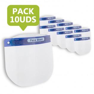 Pack Pantalla de Protección Facial | 10 uds