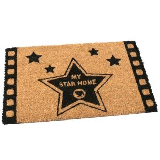Felpudo coco 40x60cm my star home
