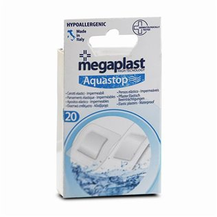 Tiritas elastica y resistente agua redonda x 20 ud