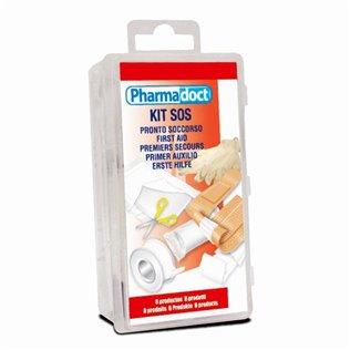 Kit de primeros auxilios megaplast 8 productos