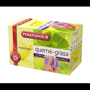 Infusion q-grasa pompadour 20 filtros