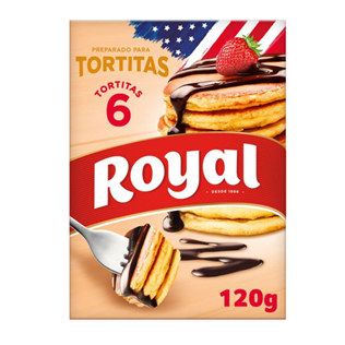 Preparado de tortitas royal 120g