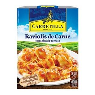 Ravioli carn/tomt carretilla 350g