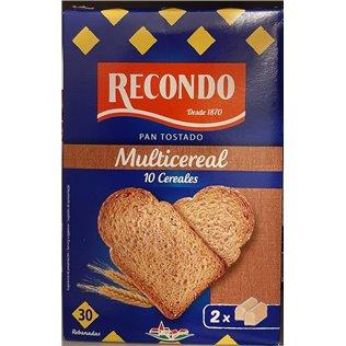 Pan recondo tost. 30U fib/10cereales