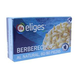 Berberechos 60/80 eliges lata 58g