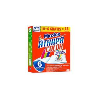 Toallitas micolor atrapacol 10+6