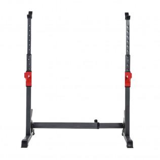 Soporte estante ajustable para barra y pesas | Carga máxima 200 Kg.
