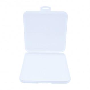 Caja portamascarillas 13x13 blanca