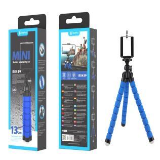 Palo Selfie Tripode flexible 360° , 13cm ,Azul
