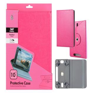 Funda Universal Cris 10,0 Pulgadas para Tablet Rosa