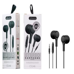 Auriculares con Micrófono Lenoy , 1.2M,Negro