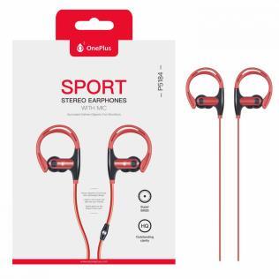 Auriculares Estéreo Sport Sunglasses con Microfono, Rojo
