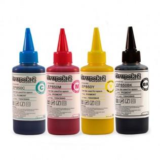 Tinta pigmentada impresoras epson 100ml ep850