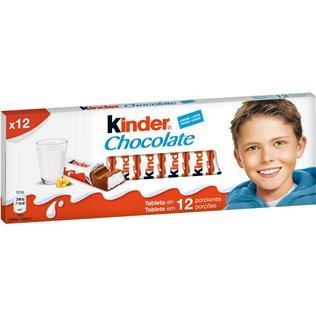 Chocolate kinder barrita 12 u 151g