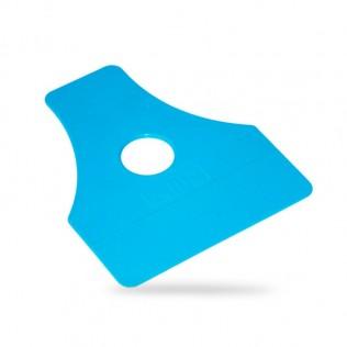 Espátula de plástico para vinilo 120x100mm qg-12