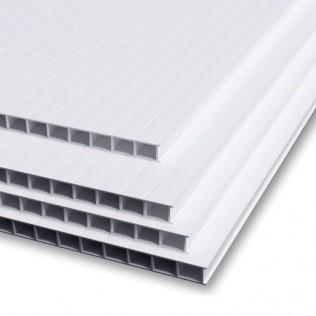 Plancha de polipropileno celular blanco 3mm