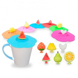 Tapa de silicona para taza