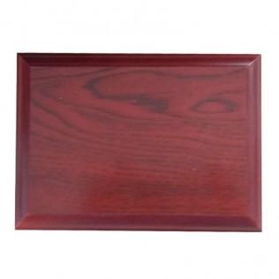 Base de madera para placas