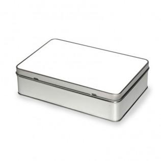 Caja rectangular de chapa para sublimación es-008